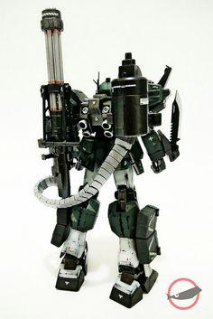 Gundam Heavyarms Guerilla Warfare   Back view