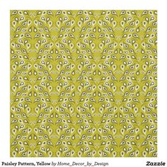 http://www.zazzle.com/paisley_pattern_yellow_fabric-256923703841637883