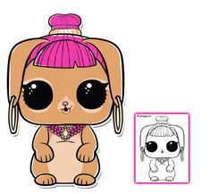 Bunny Wishes LOL Doll Coloring Page – LOL Surprise Doll Coloring Pages