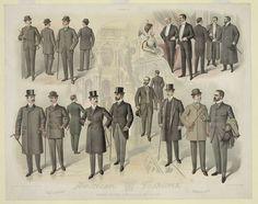 Rare Vintage American Men's Modes Fashion Poster, Spring and Summer 1940 Fashion D, Fashion History, Winter Fashion, Spring Fashion, Mode Masculine, Sherlock Holmes, Dandy, Victorian Fashion, Vintage Fashion
