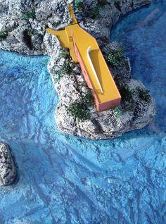 Adalberto Libera (1903-1963) (concetto)   Adolfo Amitrano e Curzio Malaparte (1898-1957) (realizzazione)   Villa Malaparte   Punta Massullo, Capri   1937-1957