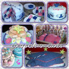 Custom Cakes Variety