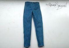 Ropa decente para Barbie - Barbie Pants Jeans by DieGraueSpindel on Etsy