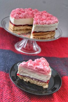Cake Cookies, Mousse, Healthy Snacks, Cheesecake, Food And Drink, Sweets, Baking, Recipes, Raspberries