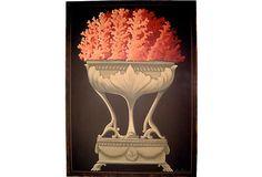 Italian Urn w/ Coral