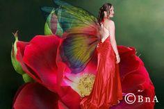 fantasy prom dress Rachel Bright, Got The Look, Brides, Prom Dresses, Dreams, Fantasy, Womens Fashion, Hair, Wedding