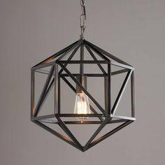 Lantern Chandelier, Hanging Lanterns, Lantern Pendant, Pendant Lamps, Cage Pendant Light, Pendant Lighting, Geometric Pendant Light, Industrial Lighting, Light Fittings