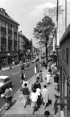Sutton, High Street c.1965, from Francis Frith