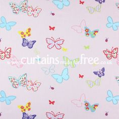 Prestigious Textiles Butterfly Tropical - Childrens Fabrics - Curtains Made For Free