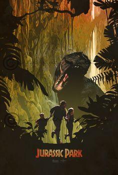 Jurassic Park by Edward Burczyk [©2014]