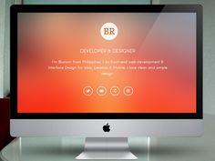 Portfolio Final Design with Live Site