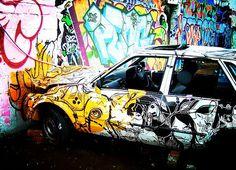 car and art