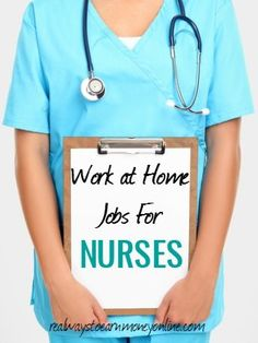 Did you know that nurses can work at home? This post has a list of all the different ways nurses can work from home, plus companies with these openings. Nursing Degree, Nursing Career, Nursing Tips, Nursing Assistant, Nursing Programs, Lpn Programs, Home Health Care, Health Tips, Nursing Students