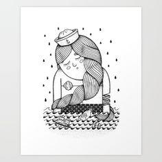 Amour Éternel (Elle) Art Print