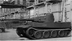 VK 45.01(H) fgst.no 1 Tiger prototype.This vehicle is fitted with vorpanzer