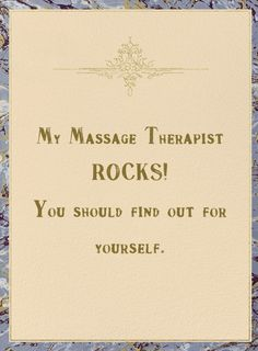 Share with your massage clients to share with their friends and family