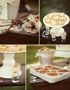 Sweet Treats 17. Sweet Treats and Savory eats #modcloth #wedding