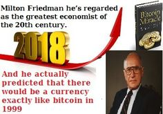#CryptoCurrency #bitcoin #crypto #investing #Cryptocurrency & altcoins -The Bitcoin Miracle #cryptoprofit ebook btc& altcoins ebook by Milton Friedman. He actually predicted that there would be a currency exactly like bitcoin in 1999!And hes regarded as the greatest economist of the 20th century. See more useful things on coin money network. The Bitcoin Miracle will explain everything step by step without any techno babble. It will also show you how to obtain 100% free bitcoin or even purchase some via PayPal with no fees. Youll love it. Check it out Today :  bit.ly/2zXtyom  Cool thing is Ive been quietly using this plans for the past 2 months to making money with Bitcoin!  Heres why its so cool inside Bitcoin Miracle: - What are Bitcoin how they work and the history of Bitcoin. - How you can buy and sell Bitcoin. - How you can buy and sell Bitcoin for HUGE profits as well as other crypto currencies such as Litecoin. - How you can accept Bitcoin as a merchant on your own website. What is happening in the world with Bitcoin is that its acceptance is getting bigger and bigger. There are a lot of businesses and websites (such as wordpress reddit ushobby the humble bundle virgin etc.) that have started using this system even the big casinos in Las Vegas and smaller bars of some cities have started to use it. If you spend some of few dollars to get maximum profit in the same way just by investing any spare amount of time or money into bitcoin now! So you have no reason to delay bitcoin anymore. Everything you need is included inside absolutely nothing is retained. It is here to stay long term as they prove over and over again. You will not have to look any further! Now the choice is yours for getting ready to take the leap and start incorporating Bitcoin in your business. Youll love it. Check it out now :  bit.ly/2zXtyom  I would appreciate if you would get involved with comments dislike like and share. So we can begin to communicate together and even help with informati