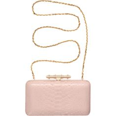 Givenchy Pink Python Clutch