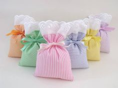 Hobby Room Organization Organizing Ideas - - Hobby For Women Over 50 Over 40 - Hobby Lobby Organization Baskets - - Lavender Bags, Lavender Sachets, Sewing Crafts, Sewing Projects, Projects To Try, Sachet Bags, Scented Sachets, Fabric Gift Bags, Creative Gifts