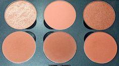 MAC blush palette: Honor, Melba, Margin, Sincere, Peaches Gingerly, ~ Look Inside My Closet