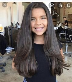 Medium Long Haircuts, Long Layered Haircuts, Medium Hair Cuts, Long Hair Cuts, Long Hair Styles, Kids Girl Haircuts, Haircuts For Long Hair With Layers, Haircut For Thick Hair, Little Girl Hairstyles