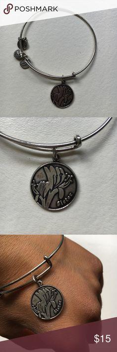 Alex and Ani Sister Charm Bracelet silver finish, sister charm Alex & Ani Jewelry Bracelets
