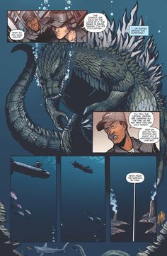 Godzilla Rulers of Earth issue 11 - pg 7 by KaijuSamurai (Matt Frank)