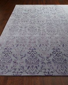 Delilah Rug by Safavieh at Horchow in light purple & ivory