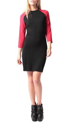 The Player Dress-Red, Black