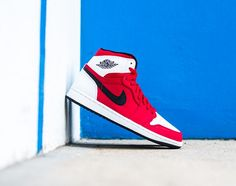 """Following our preview of the upcoming Air Jordan 1 Retro High """"Russel Westbrook,"""" we are now getting a close look at the brand's take for Black Griffin. Boasting a nubuck upper decked out in white and red overlays in a nod toward Griffin's LA Clippers squad, this …"""
