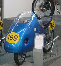 NSU Rennfox 1954 blue vl