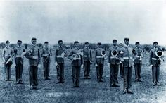 1894 A&M marching band