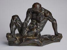 Man, nude, impressionist - A Private Collection Impressionist, Sweden, Lion Sculpture, It Cast, Nude, Statue, Paris, Creative, Pictures