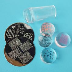 Achieve BEST nail stamping result with see-through clear stampers! #nailart #nailstamper