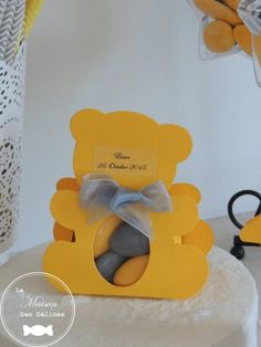 Place Cards, Party Ideas, Place Card Holders, Baby Shower, Boy's Day, Yellow, Birthday, Kid, Home