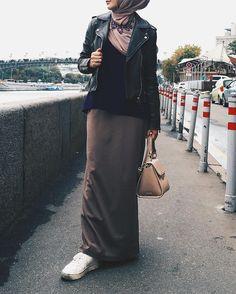 Sport style hijab