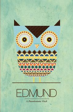 Edmund the Owl Poster | Flickr - Photo Sharing!
