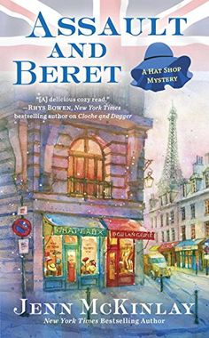 January 3. Assault and Beret (A Hat Shop Mystery) by Jenn McKinlay http://www.amazon.com/dp/0425279596/ref=cm_sw_r_pi_dp_wR7jxb187SCBP