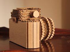Cardboard Camera by CisforCardboard on Etsy