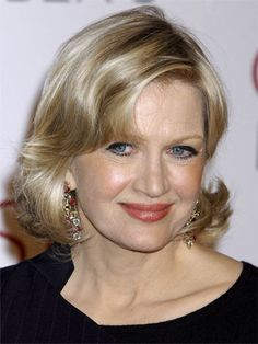 News anchor, Diane Sawyer, still as beautiful as ever......