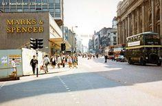 Market Street 1970, Manchester City Centre.