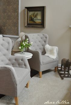Since early last fall I've been on the lookout for a pair of matching chairs for our living room. I found quite a few options that I lo...