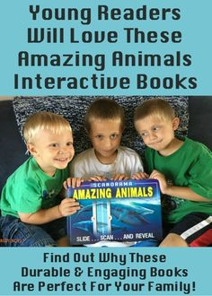 These interactive books with cool features are sure to engage your young (& old!) readers. Find out why are family loves this Scanorama: Amazing Animals by Silver Dolphin Books. Learn some extra ways to extend the learning fun with these books, too!