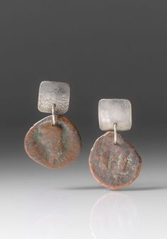 HOLLY MASTERSON ANCIENT COIN DROP EARRINGS