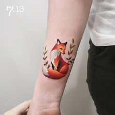 Fox Tattoo by coosomno
