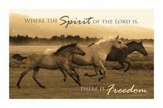 Horse Trio with Verse