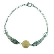 Golden Snitch inspired Bracelet/Necklace