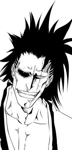Bleach - desenho - fanart - feito a mão - anime - mangá - Kenpachi Zaraki Zaraki Bleach Anime, Bleach Fanart, Manga Anime, Manga Art, Anime Art, Bleach Figures, Bleach Drawing, Bleach Tattoo, Kenpachi Zaraki