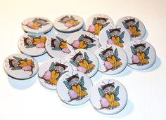 Fairy Cat Badges